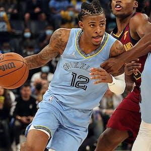 Ja Morant Memphis Grizzlies NBA