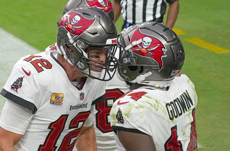 Tom Brady Chris Godwin Tampa Bay Buccaneers NFL