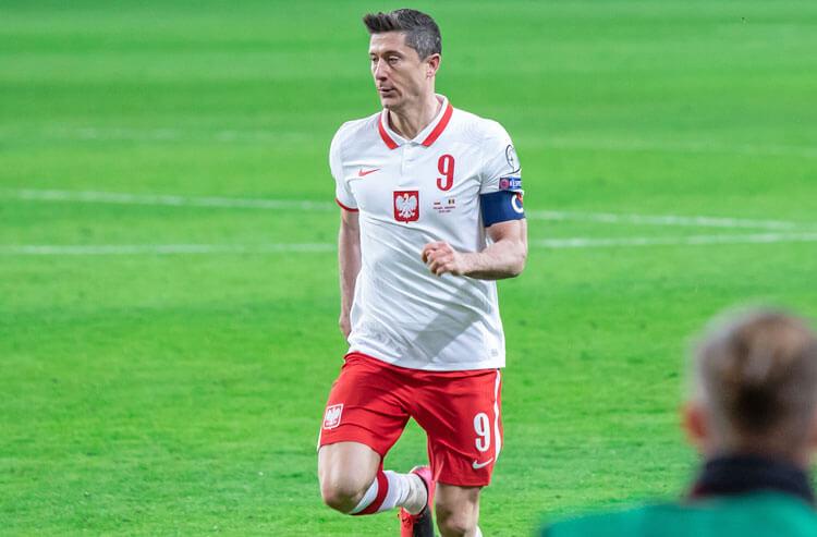 Robert Lewandowski Poland national soccer team Euros