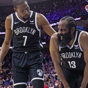 Kevin Durant James Harden Brooklyn Nets NBA