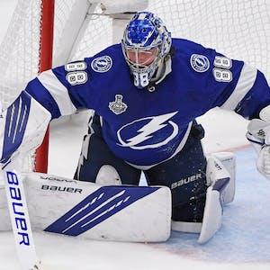 Andrei Vasilevskiy Tampa Bay Lightning NHL Stanley Cup Final