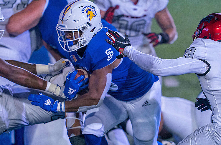 San Jose State Spartans Tyler Nevers Mountain West Championship
