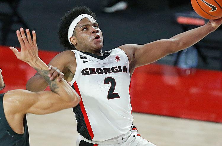 Sahvir Wheeler Georgia Bulldogs NCAA Sec Tournament