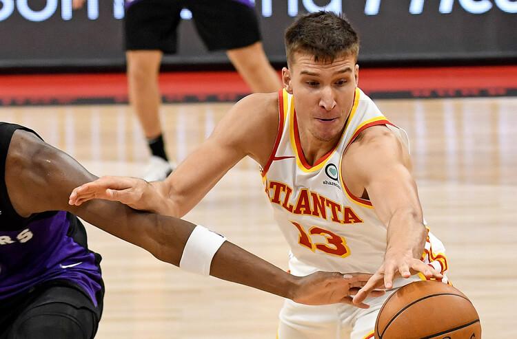 Bogdan Bogdanovic Atlanta Hawks NBA