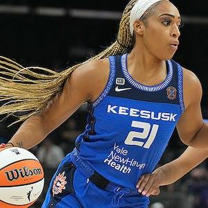 DiJonai Carrington Connecticut Sun WNBA