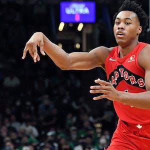 Scottie Barnes Toronto Raptors NBA