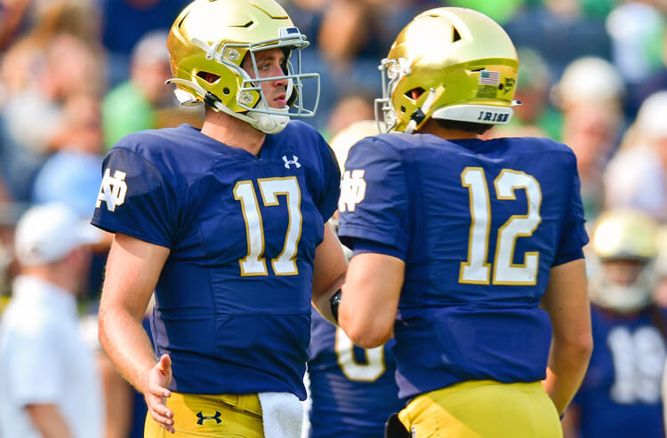 Purdue vs Notre Dame Picks and Predictions: Saturday Afternoon's Alright for Fighting