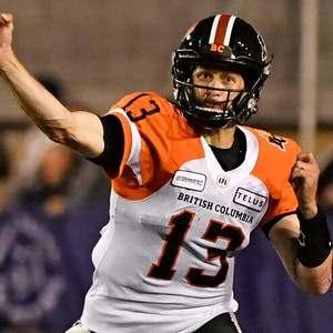 Michael Reilly CFL BC Lions