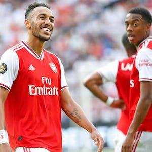 Pierre-Emerick Aubameyang Arsenal EPL