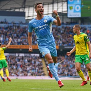Ferran Torres Manchester City EPL