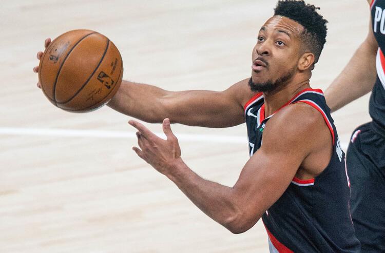 CJ McCollum NBA Portland Trail Blazers