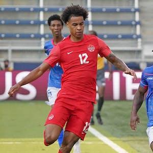 Tajon Buchanan Canada men's national soccer team CONCACAF Gold Cup
