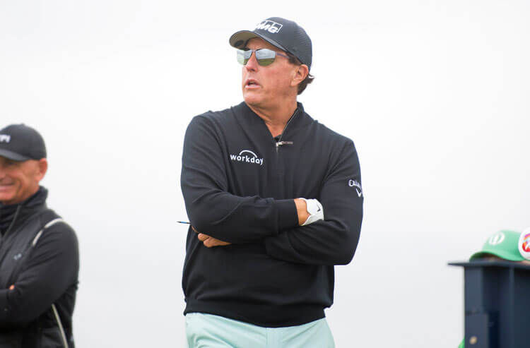 Phil Mickelson British Open Golf PGA
