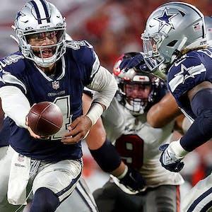 Dak Prescott Ezekiel Elliott Dallas Cowboys NFL