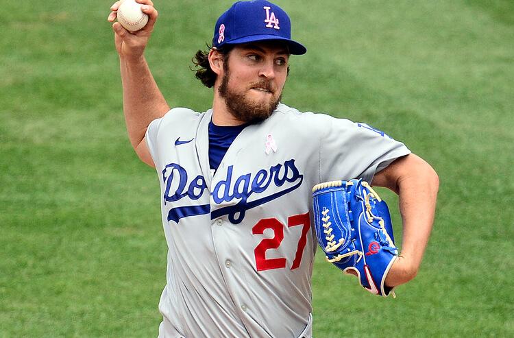 Trevor Bauer MLB Los Angeles Dodgers