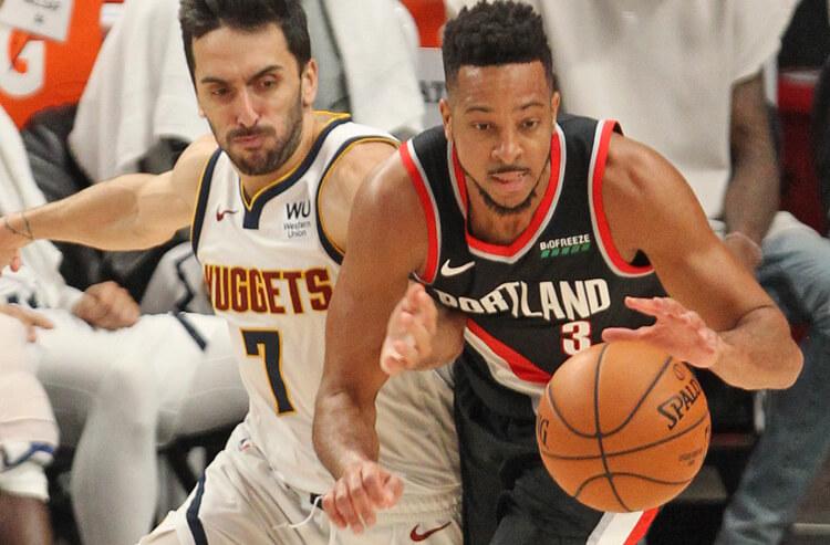 CJ McCollum Portland Trail Blazers NBA playoffs