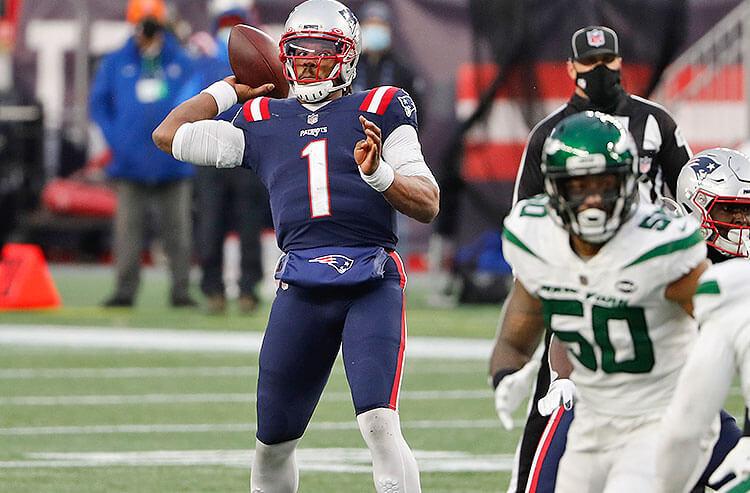 Cam Newton New England Patriots NFL