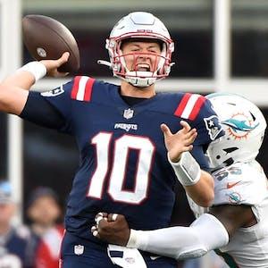 Mac Jones New England Patriots NFL