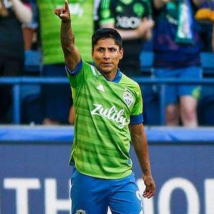 Raul Ruidiaz Seattle Sounders MLS