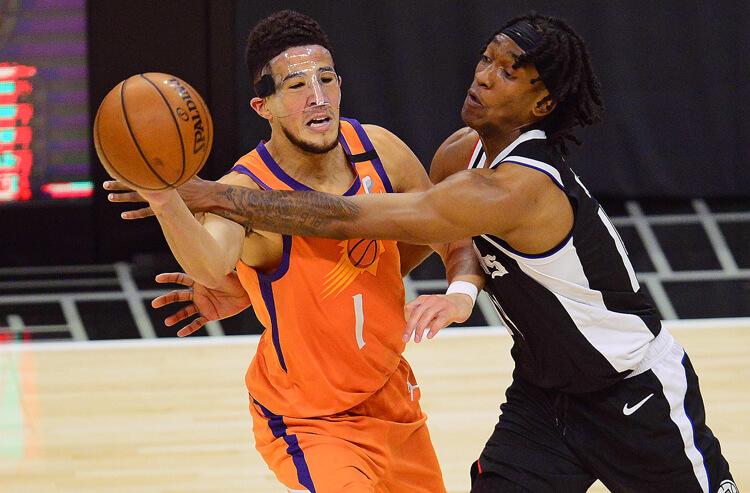 Devin Booker Phoenix Suns NBA playoffs