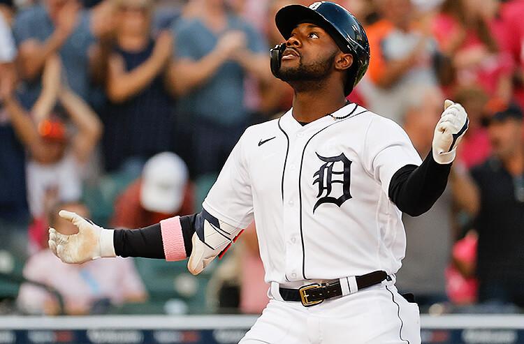 Akil Baddoo Detroit Tigers MLB