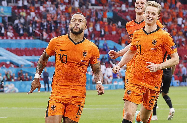 Memphis Depay Netherlands Euro 2020