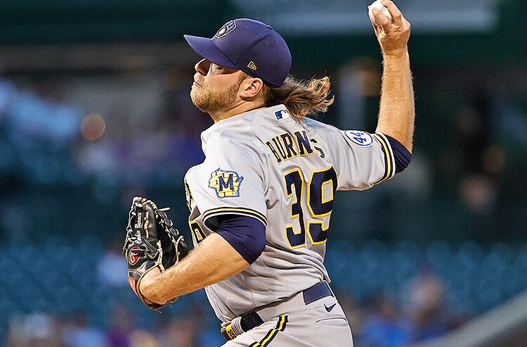 Corbin Burnes Milwaukee Brewers MLB
