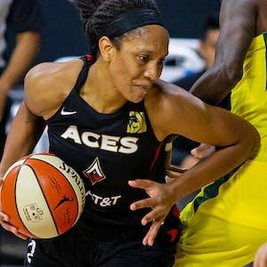 A'ja Wilson Las Vegas Aces WNBA