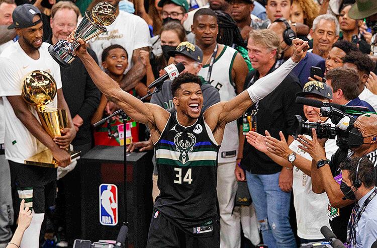 NBA Finals Odds: Bucks The Champions, Nets 2021-22 Favorites