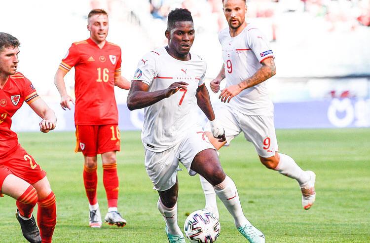 Breel Embolo Switzerland national team soccer Euros