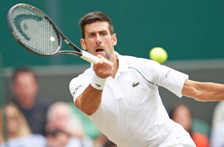 Novak Djokovic Wimbledon's men's semifinal