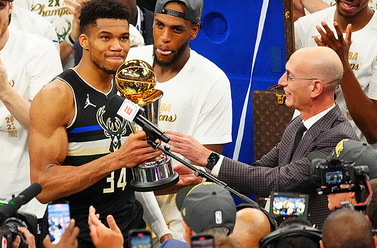 2021 NBA Finals MVP Odds: Giannis Adds To His Trophy Case