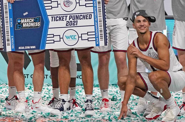 Jalen Suggs Gonzaga Bulldogs NCAA March Madness