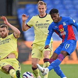 Wilfried Zaha Crystal Palace Premier League