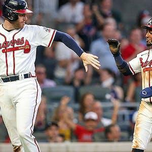Freddie Freeman Ozzie Albies Atlanta Braves MLB