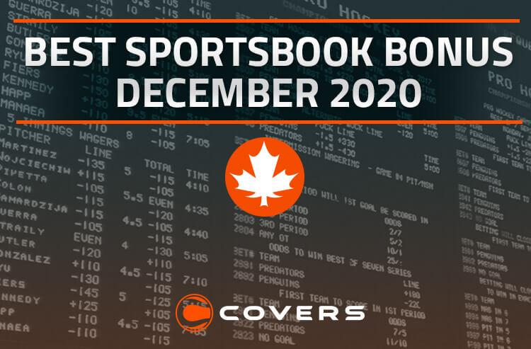 Best Sportsbook Bonus in Canada for December 2020