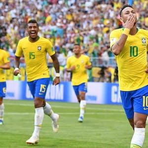 Brazil Belgium World Cup odds