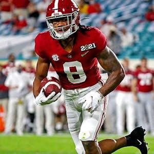 Alabama Crimson Tide John Metchie III NCAA football